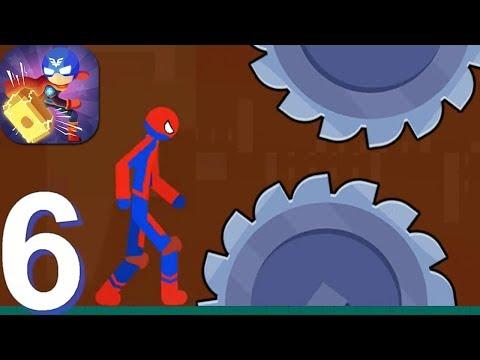 Stickman Destroy - Gameplay Walkthrough Part 6 Destroy Mode New Levels (Android Gameplay)