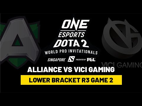 Alliance vs Vici Gaming – Game 2 – Lower Bracket R3 – ONE Esports Dota 2 Singapore Invitational