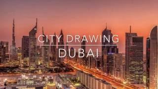 City Drawing - DUBAI