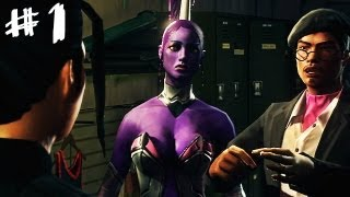Saints Row: The Third - Gangstas in Space - Gameplay Walkthrough Part 1 - Faster, More Intense!