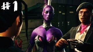 Saints Row: The Third - Gangstas in Space - Gameplay Walkthrough Part 1 - Faster, More Intense!