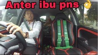 Anter ibu pns - vlog taxi online palu #3