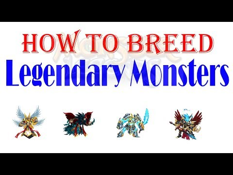 How to Breed Legendary Monsters - Monster Legends - 2018 Ep.5