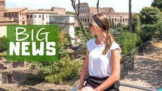 ROM: Es steht GROßES an! Forum Romanum • Italien auf Weltreise   VLOG #375