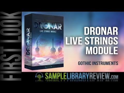 Gothic Instruments DRONAR Live Strings – Time+Space