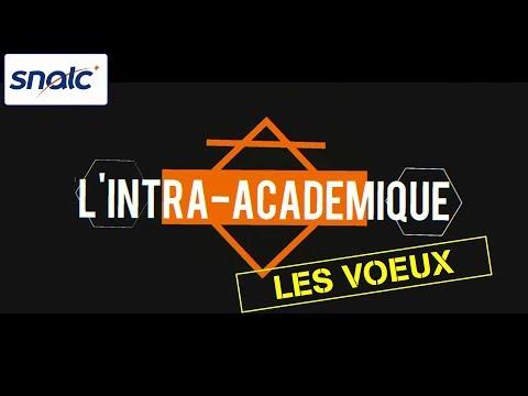 SNALC : quels sont les différents voeux pour le mouvement intra-académique ?