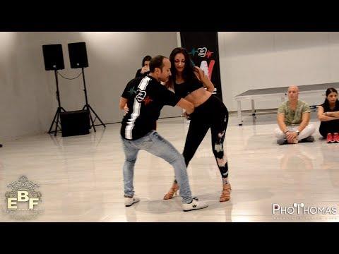 Luca Catalano & Francesca [Girls Like You] @ Europe Bachata Festival 2018