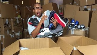 BIGGEST Sneaker UNBOXING EVER! 4000 Pairs!