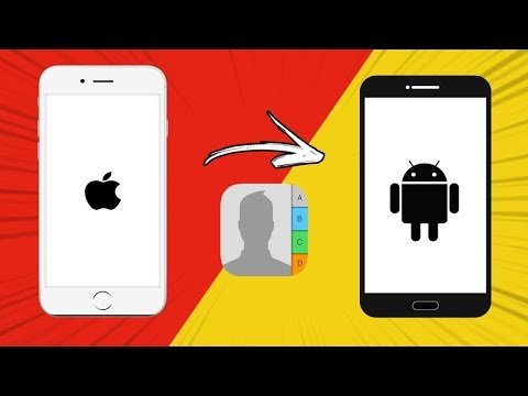 Move phone contacts from apple to android