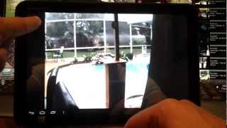 View IP Camera on Android Tablet: Home or Business Security Cameras