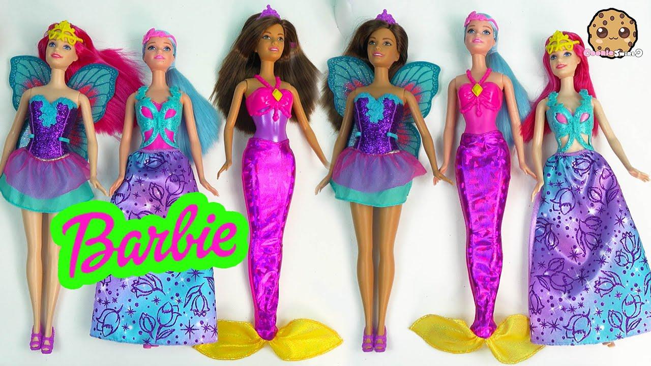 Barbie Fairy Vs Mermaid Vs Princess - Barbie Games | Play ...