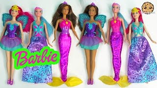 Video Barbie Fantasy Dolls Mermaid Fairy Princess Fairytale Easy Dress Up Cookieswirlc Toy Review download MP3, 3GP, MP4, WEBM, AVI, FLV Juni 2018