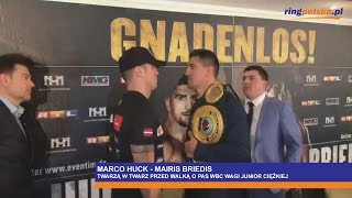 HUCK - BRIEDIS FACE TO FACE!