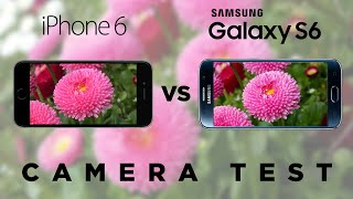Samsung Galaxy S6 vs iPhone 6 - Camera Test Comparison | SuperSaf TV