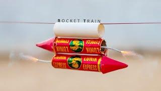Diwali Special Rocket Train - Will It Work ?