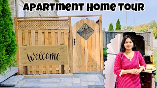 #Vlog   Our Apartment Home Tour   Telugu Vlogs from USA