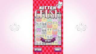 Kitten Crush Trailer - Adorable Cute Kitten Montage Puzzle Game