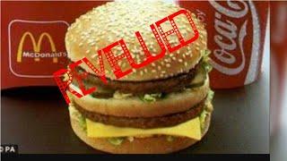 McDonald's Mega Mac burger food review