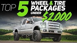 TOP 5 Wheel & Tire Packages UNDER $2000!