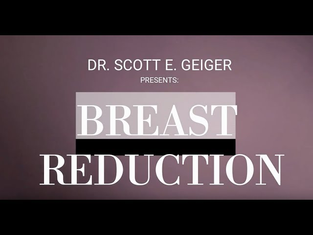 Breast Reduction Surgery - Medial Pedicle, Vertical Scar Technique
