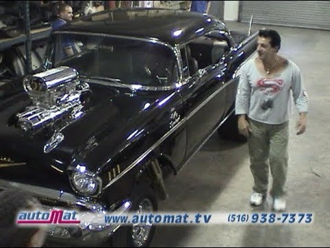 57 Chevy  Chuck Zito's Baddest on the Planet