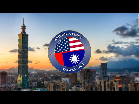 Taiwan No.2 台灣難八凸 America First... Taiwan Second