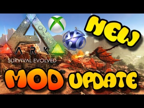 ARK NEWS: Xbox One/PS4 Update - OFFICIAL MODS COMING