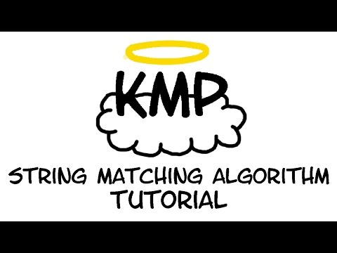 Tutorial: The Knuth-Morris-Pratt (KMP) String Matching Algorithm