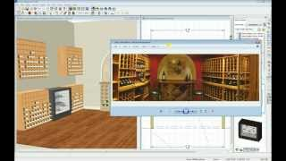 Home Designer Software - Wine Cellar Webinar