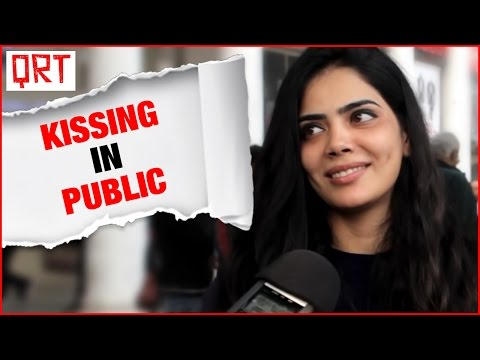 KI*SING IN PUBLIC | Social Experiment in India | Funny Video | Quick Reaction Team