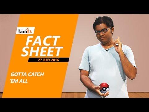 Fact Sheet - July 27: Gotta Catch Em All!