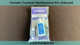 Yamaha Trumpet Maintenance Kit:Unboxed and Reviewed