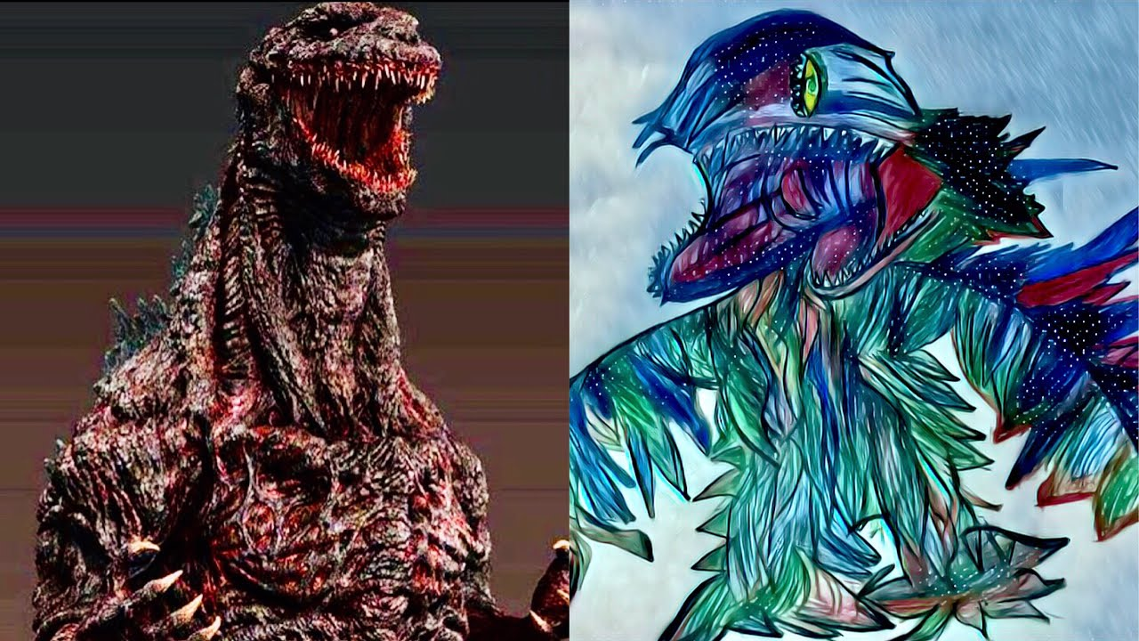 SHIN GODZILLA VS SHIN HEDORAH - YouTube