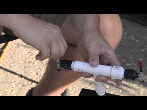 How to Build a PVC Aeroponics Tube Growing System : Hooked on 'Ponics
