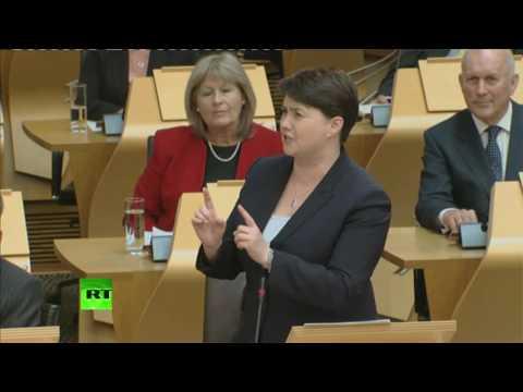 """""""No new arguments for #indyref2"""" - Ruth Davidson"""