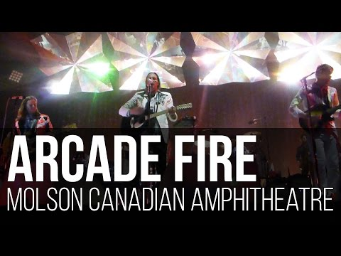 Arcade Fire - Intervention (Molson Canadian Amphitheatre / Toronto - Canadá)