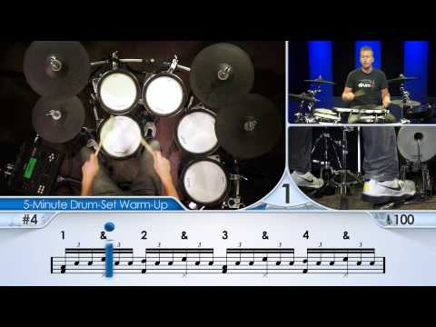 5-Minute Drum-Set Warm-Up (Advanced) - Drum Lesson