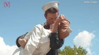 Vandals Spray Paint #MeToo On Iconic World War II Kissing Sailor Statue
