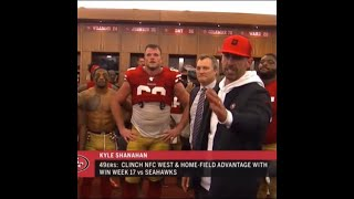 Kyle Shanahan Cusses Up a Storm after Win Vs Rams + 49ers Player Reactions
