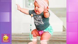 Супер милые дети танцуют везде - Смешное детское видео