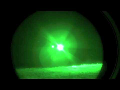 Virginia Army National Guard troops conduct night air assault