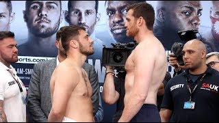 PRICE EARLY OR ALLEN LATE? - DAVID ALLEN v DAVID PRICE (COMPLETE) WEIGH-IN VIDEO / o2 / WHYTE-RIVAS
