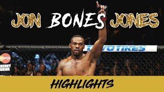"Jon ""Bones"" Jones Highlights (2018) HD ||| LEGENDARY"