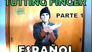 Tutorial como Bailar Dubstep|Tutting Finger Basico Español