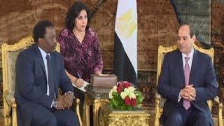 مباحثات قمة بين الرئيس السيسي ورئيس جمهورية الكونغو جوزيف كابيلا بالقاهرة