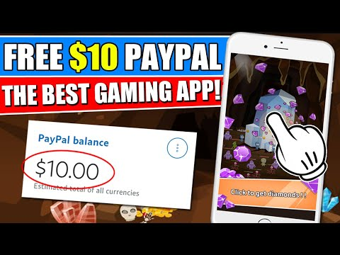 MAKE $10 FROM GOLD MINING APP! Free Paypal Earnings!