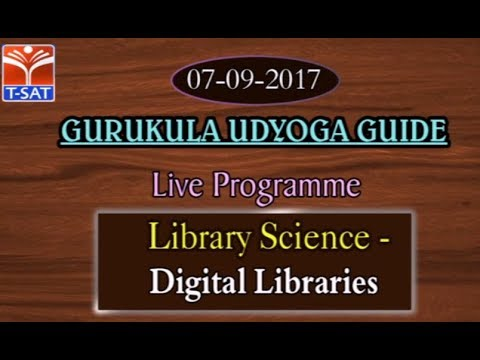 GURUKULAM (Mains) || Library Science - Digital Libraries || Dr. J. Vivekavardhan