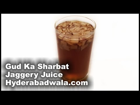 Muharram Special Gud Ka Sharbat Recipe Video – How to Make Hyderabadi Muharram Special Jaggery Juice
