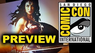 Comic Con 2016 - Wonder Woman, Doctor Strange, Kong Skull Island, Guardians of the Galaxy 2