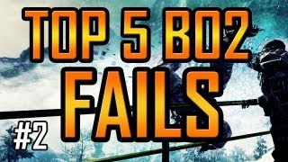 BO2 TOP 5 FAILS OF THE WEEK 2 - Black Ops 2 EPIC FAIL Countdown by Whiteboy7thst